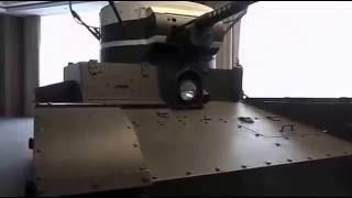 Прикольно. Первый русский танк с антенной