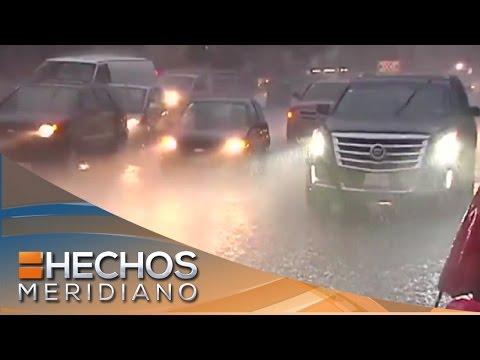 Tabasco y Veracruz donde más fuerte ha pegado la tormenta Earl