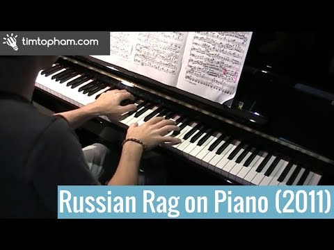 Russian Rag by Elena Kats-Chernin (original 2011 version)