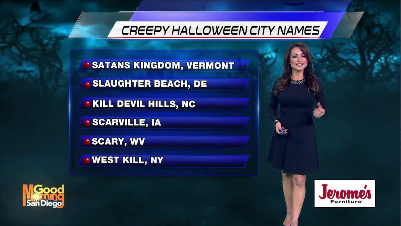 Creepy Halloween City Names