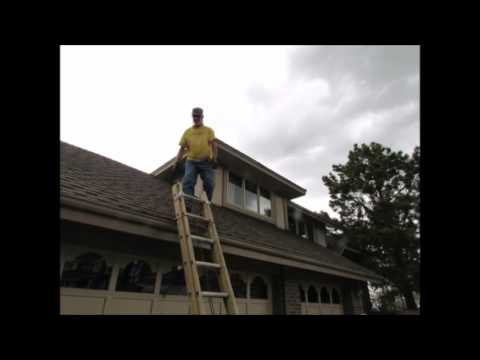 Getting Onto Roof Safely Youtube