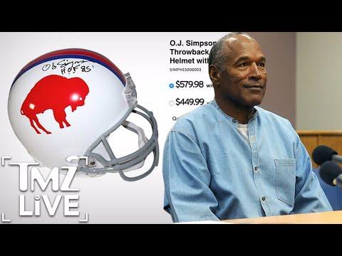 O.J. Simpson: Newly Signed Helmets Selling for a Killing | TMZ Live