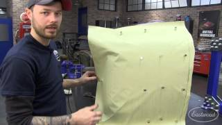 How To Make a Paper Pattern Template for Metal Fab & Sheet Metal - Hand-Made Fender - Eastwood