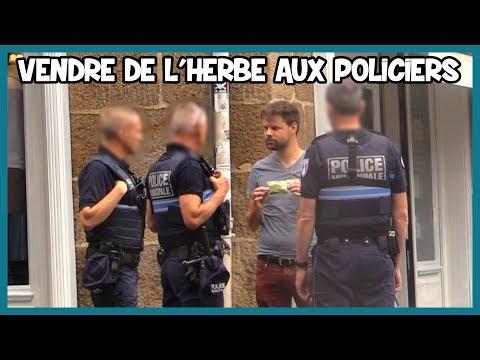 Dealer de l'herbe aux policiers - Défi Prank - Les Inachevés