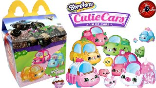 КЬЮТИ КАРС Шопкинс в Хеппи Мил Макдональдс январь 2020🍟/McDonalds Happy Meal Shopkins 😜 Cutie Cars