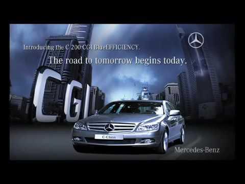 Mercedes Benz's advanced CGI engine technology