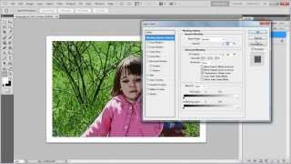 How to create a cartoonish effect in Photoshop
