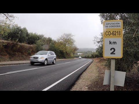VÍDEO: Recepcionadas las obras y trabajos de asfaltado de la Carretera del Santuario