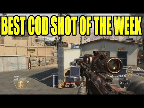 Play BEST COD SHOT OF THE WEEK #8