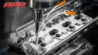 APR Stage III+ 2.0T FSI Cylinder Head Porting