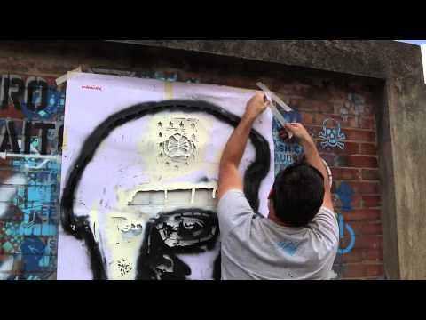 Crisp Street Art   Graffiti Artist   Bogota, Colombia