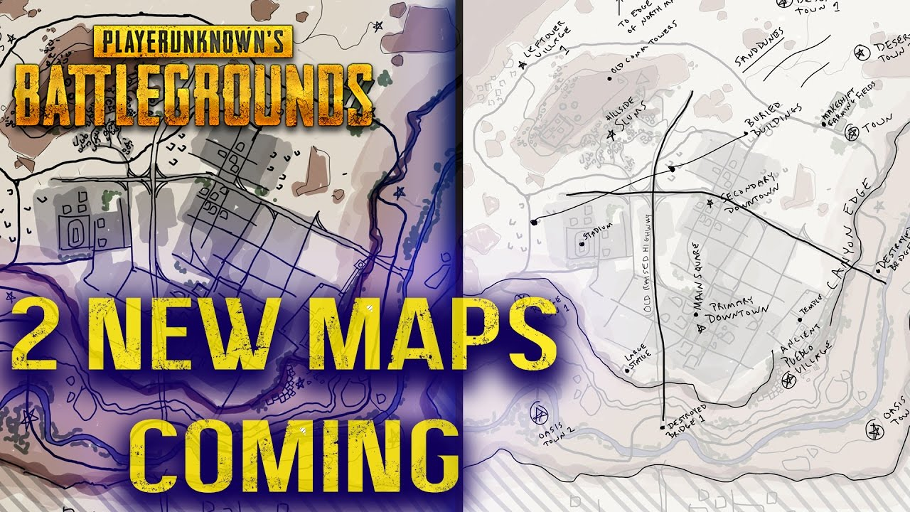 New Pubg Map Is Coming By July: PLAYERUNKNOWN'S BATTLEGROUNDS