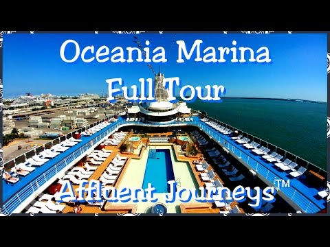 Oceania Marina Full Tour in 1080p