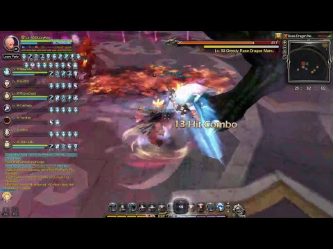 Dragon Nest SEA Rune Dragon Nest Hardcore 4 Man Service Gladiator Pov