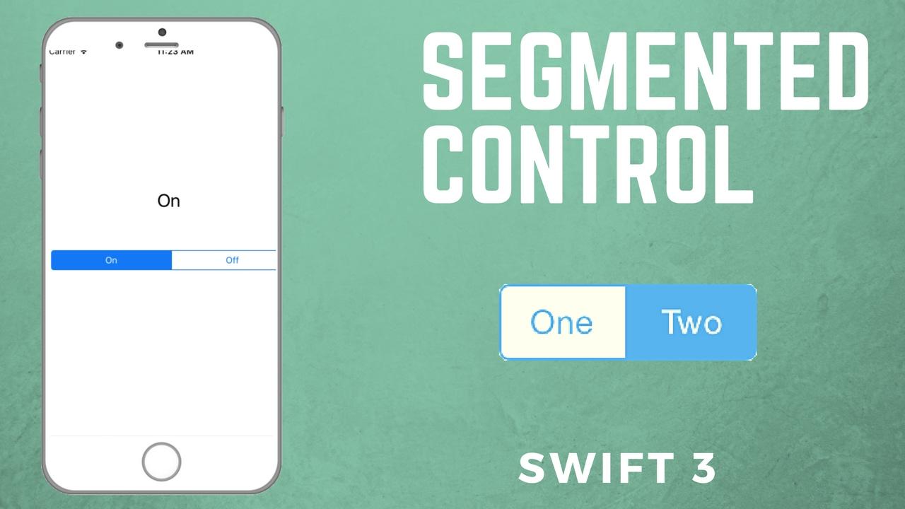 Ui tip: customizing uisegmentedcontrol (ios, xcode 8, swift 3.