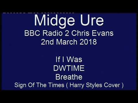 Midge Ure : BBC Radio 2 2nd March 2018