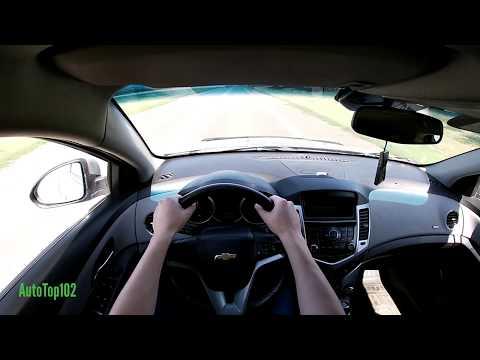 CHEVROLET CRUZE 1.8 (141) 2012. POV TEST DRIVE.