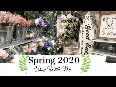 ✨NEW✨ SPRING DECOR 2020 | DECORATING FOR SPRING | MONICA ROSE