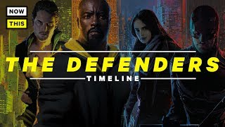 The Defenders - Timeline Explained | NowThis Nerd
