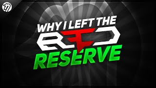 Why I Left Red Reserve...