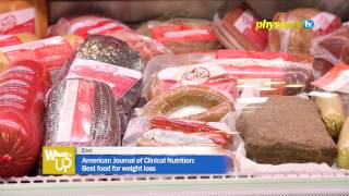 Diet : American Journal of Clinical Nutrition: Best food for weight loss