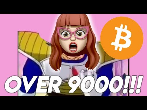 BITCOIN IS OVER 9000 AGAIN