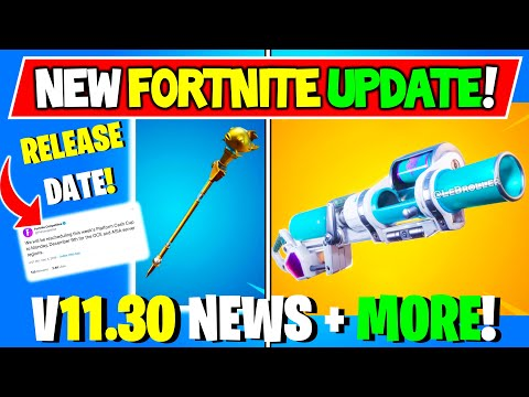 *NEW* Fortnite UPDATE V11.21 Changes! + Map Changes AR's & Soakers + More Concepts!
