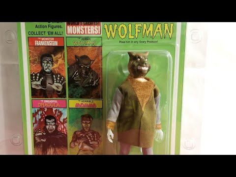 MEGO THE HUMAN WOLFMAN FIGURE REVIEW