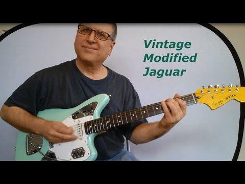 Squier Vintage Modified Jaguar - Guitar Review