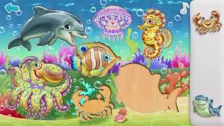 Умный малыш. Морские животные . Развивающий мультфильм для малышей.