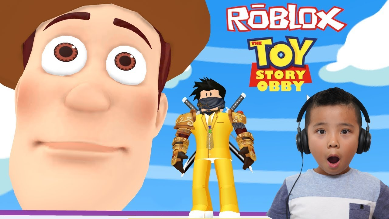 Escape Toy Story 4 Obby Roblox Ckn Gaming Youtube