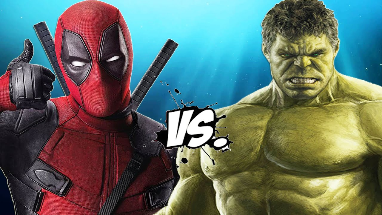 Deadpool Vs Hulk Epic Battle Youtube