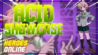 ACID SHOWCASE | HEROES ONLINE | ROBLOX
