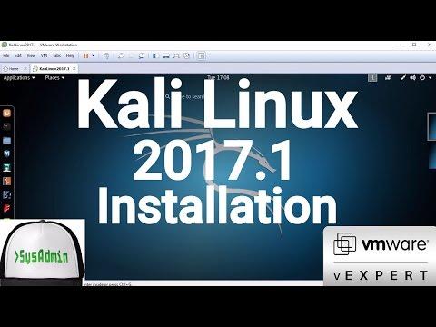 Kali Linux 2017.1 Installation + VMware Tools on VMware Workstation [2017]