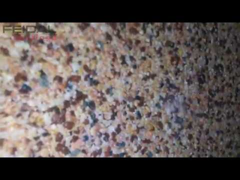 Штукатурка декоративно мозаичная полимерная CT 77 - YouTube