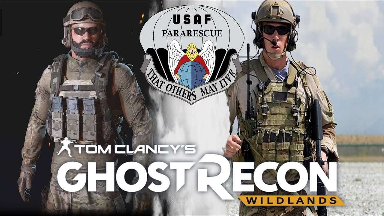 Usaf Pararescue Csar Outfit Ghost Recon Wildlands Loadout