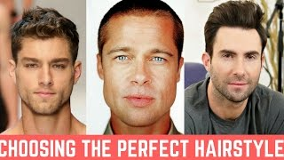 Getting The Perfect Men S Haircut That Suits Your Face Youtube