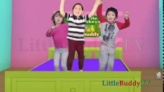 Five little Monkey jumping on the bed   2018 Nursery Rhymes