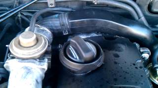 Картерные газы VW passat AVF(, 2013-07-07T20:21:03.000Z)