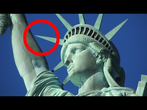 Metal Detector Finds Missing Statue of Liberty Piece!