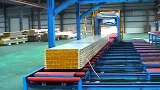 оборудование для производства сэндвич панели с минватой и полиуретанам(, 2014-03-26T03:59:16.000Z)