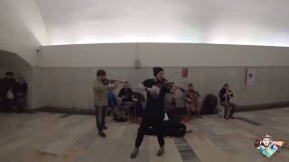 Orchestra In Moscow Metro Pirates Of The Caribbean Theme