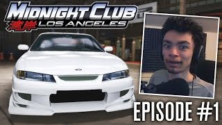 Midnight Club LA #1 - GETTING OUR FIRST RIDE!