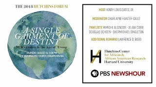 Watch Live: 2018 Hutchins Forum - MLK