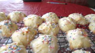 Anisette Cookies - Christmas Time 2013