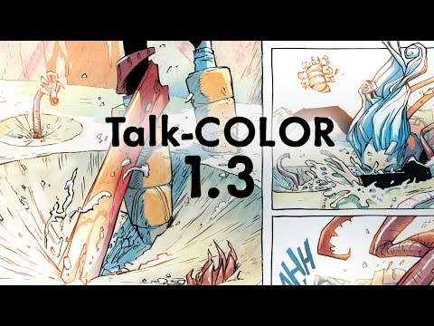 Comic Coloring: Step-by-Step Demo with Explanation P.3