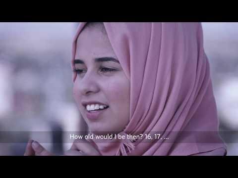 حدودك السما- أن تكون فتاة في غزة