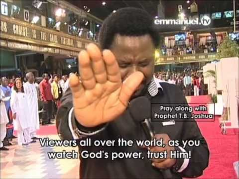Pray With TB Joshua Travel Video