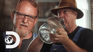 Mark & Digger Reverse Engineer Legend's Moonshine Using Only Their Sense Of Taste | Moonshiners