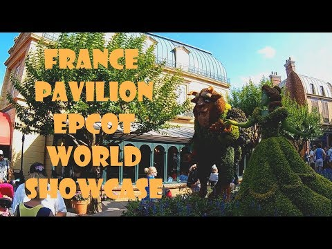 EPCOT France Pavilion World Showcase - Flower & Garden Festival - Disney World, FL - May 2017